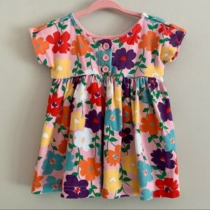 Hannah Anderson floral baby girl dress 12-18 (75)